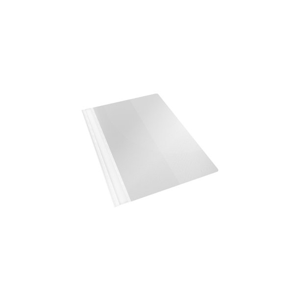 Tilbudsmapper - w/pock A4 White 25 stk