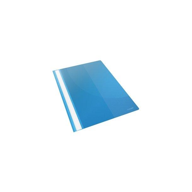 Tilbudsmapper - w/pock A4 Blue 25 stk