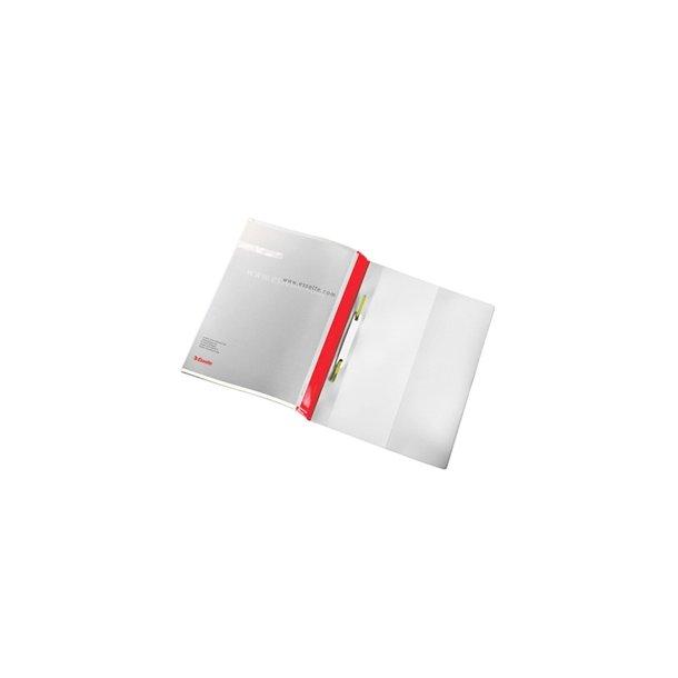Tilbudsmapper - w/2 pock A4 Red 25 stk