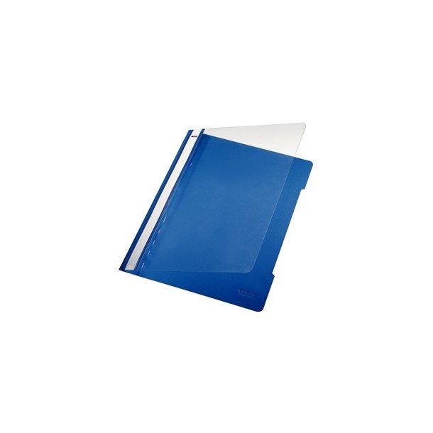 Tilbudsmapper - flat file A4 Blue 25 stk