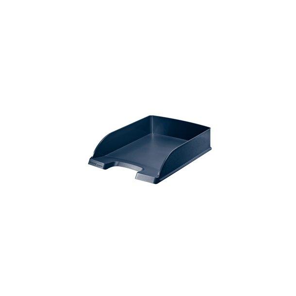Brevbakker - Leitz Plus letter tray recycle DarkBlue 5 stk