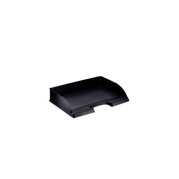 Brevbakker - Leitz Plus letter tray standard landscape Black 5 stk