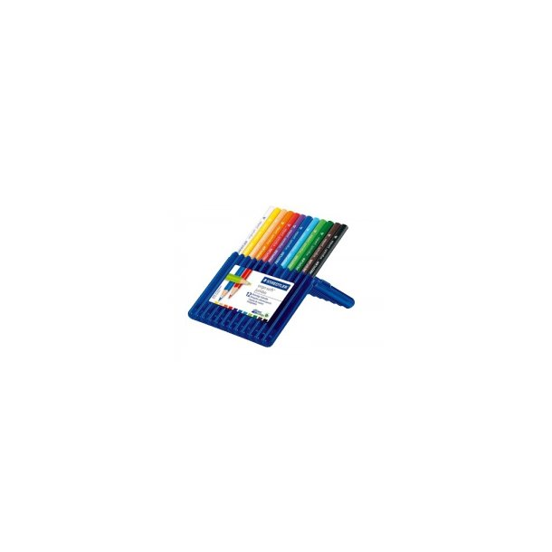 Farveblyanter Ergosoft jumbo triangular - 12 farver
