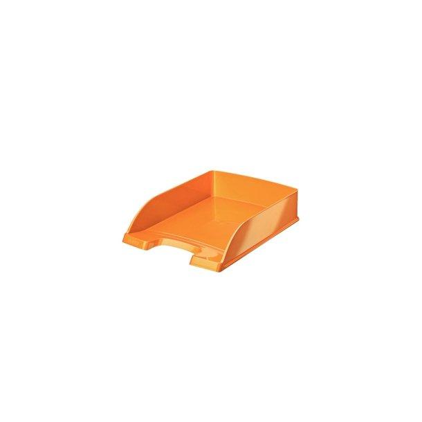 Brevbakker - Leitz 5226 WOW Plus letter tray Orange Metallic 5 stk
