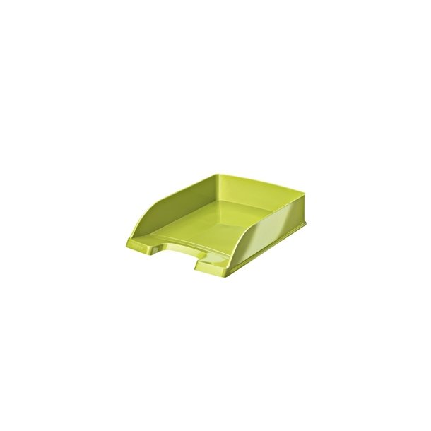 Brevbakker - Leitz 5226 WOW Plus letter tray Green Metallic 5 stk