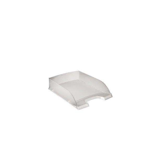 Brevbakker - Leitz Plus letter tray Frosted 10 stk