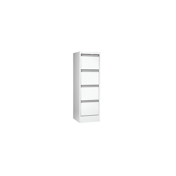 Hængemapper - Filing cabinet vertical A4 4 drawer White
