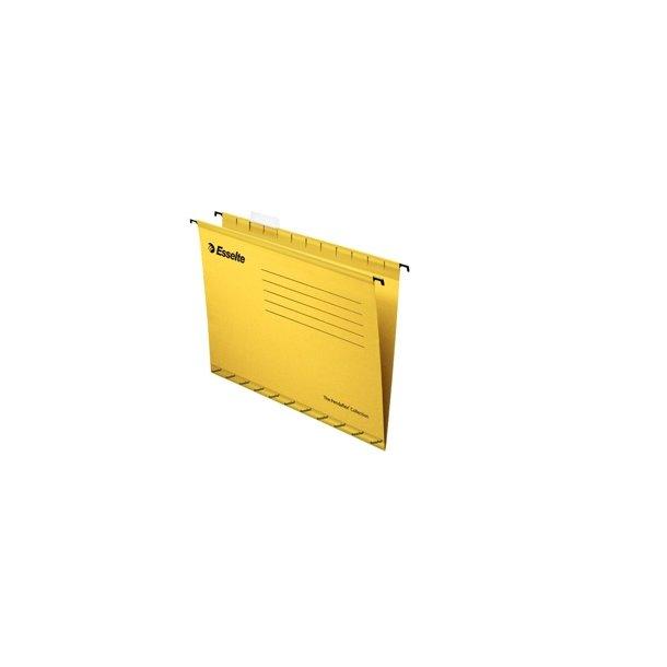 Hængemapper - Pendaflex standard A4 Yellow 25 stk