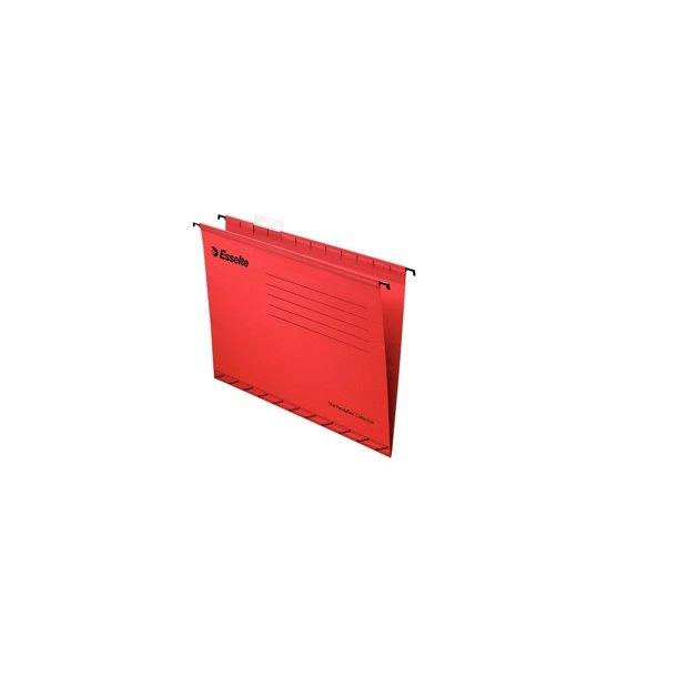Hængemapper - Pendaflex standard FC Rød 25 stk
