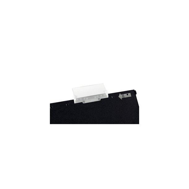 Hængemapper - Letiz label holder Act.Alpha Clear 5 stk