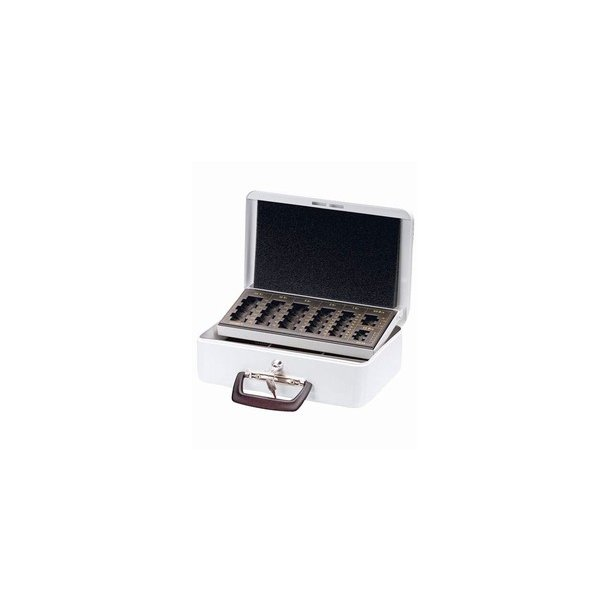 Pengekasser - Esselte with coin tray White