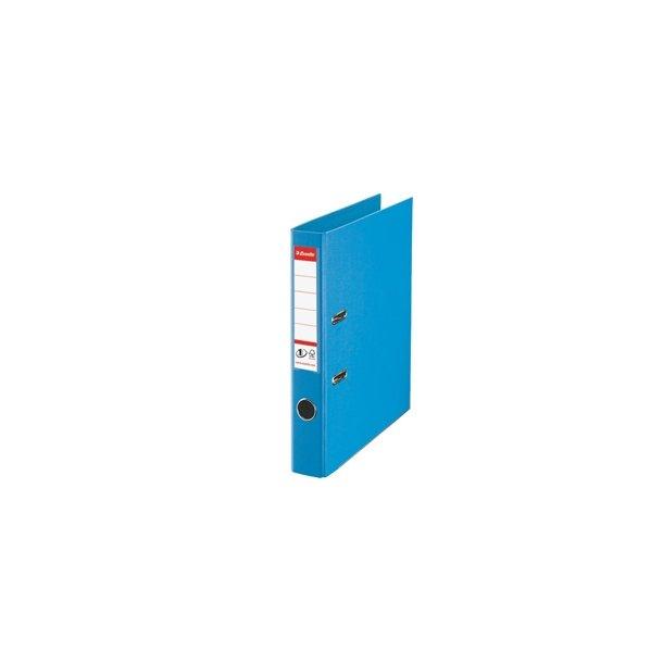 Brevordner - Esselte No1 A4/50mm Liguria Blue - FSC 10 stk