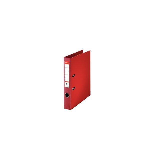 Brevordner - Esselte PP A4/50mm Rød 10 stk