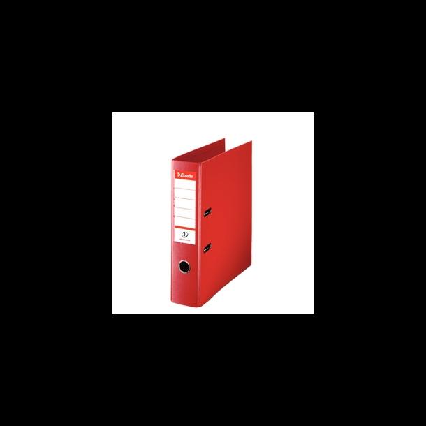 Brevordner - Esselte A4/75mm Red 10 stk