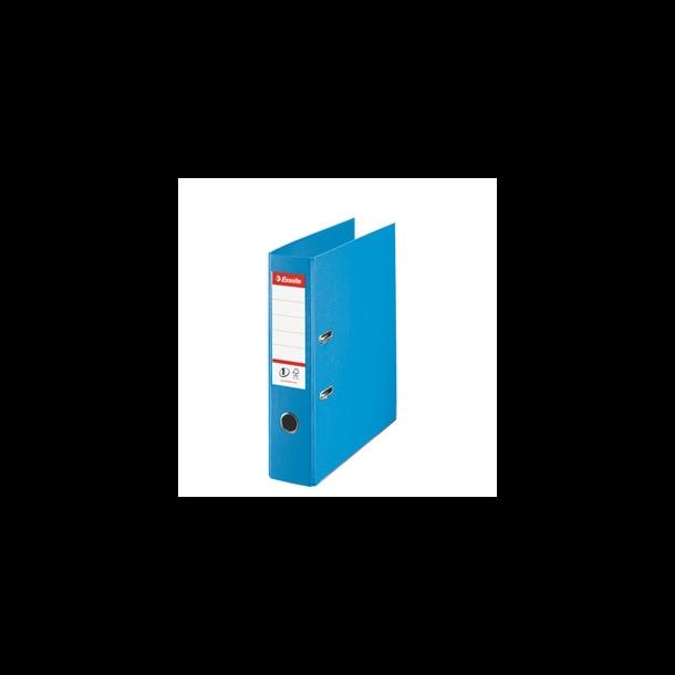 Brevordner - Esselte LAF PP A4/75mm lys blå 10 stk