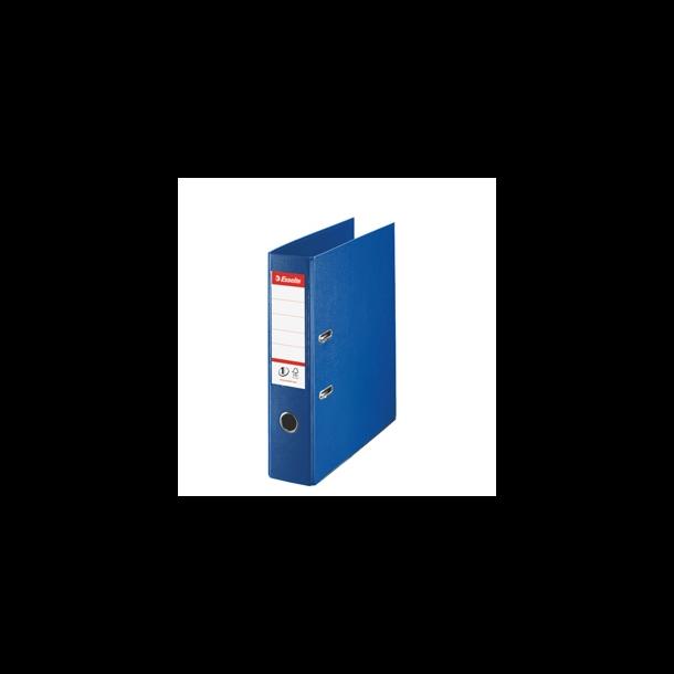 Brevordner - Esselte Power PP A4/75mm Blå 10 stk