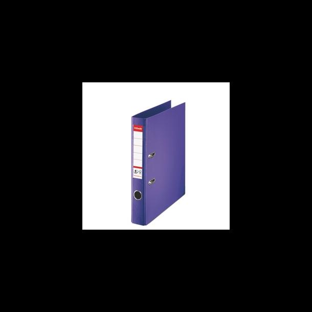Brevordner - Esselte No1 Power A4/50mm Violet - FSC 10 stk