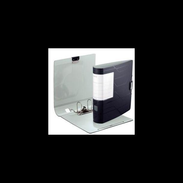 Brevordner - Leitz Prestige A4/80mm sort 10 stk