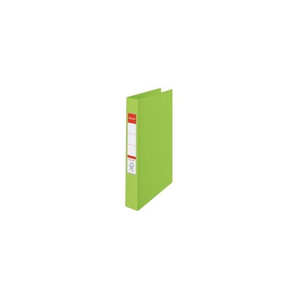 Ringbinder - Esselte A4 2RR/25mm Grøn 10 stk