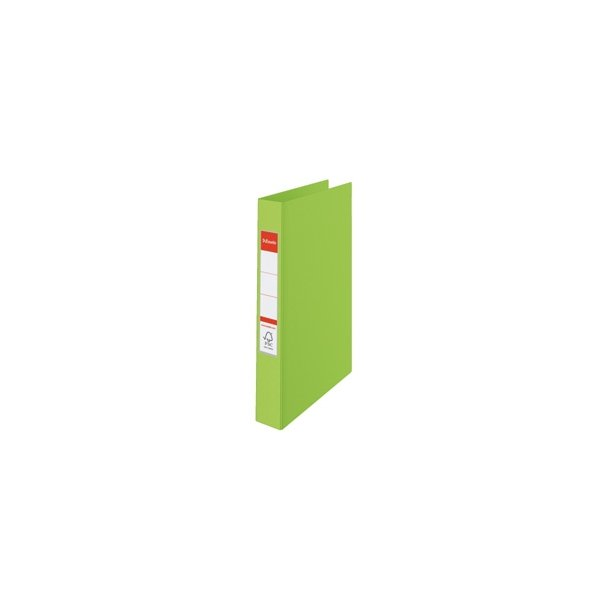 Ringbinder - Esselte Vivida A4 4RR/25mm Grøn 10 stk