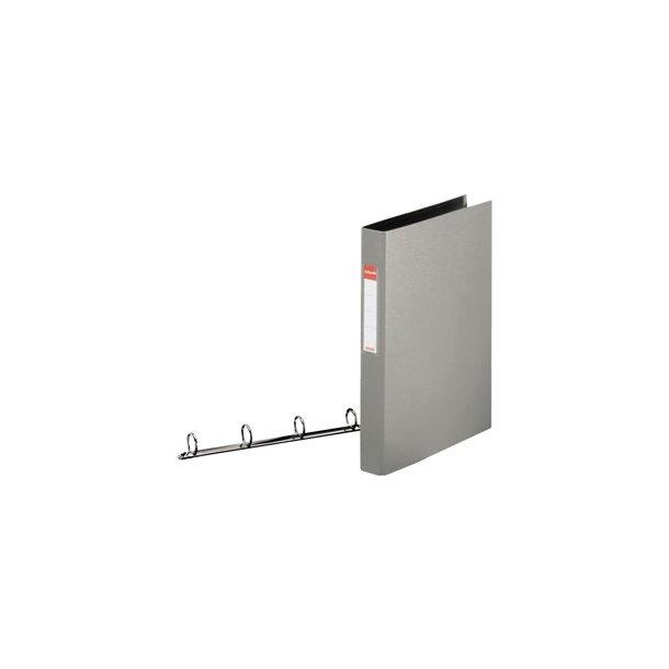 Ringbinder - Esselte A4 4RR/25mm Grå 10 stk