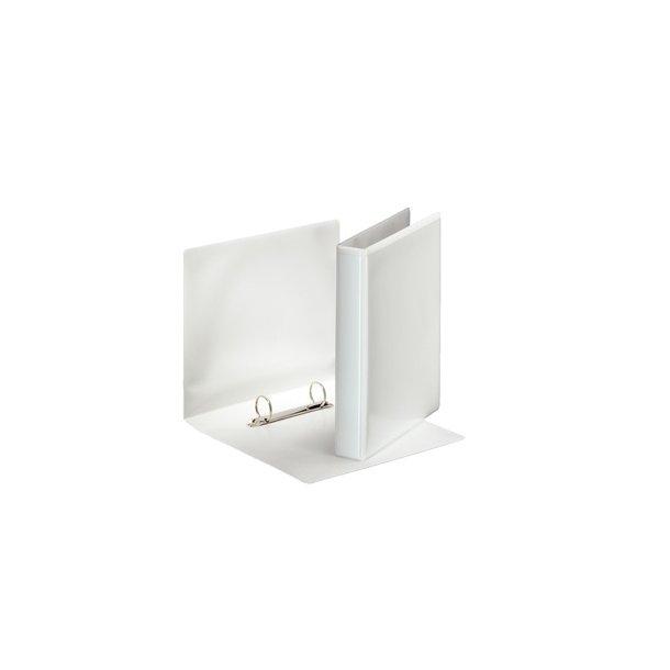 Panoramabinder - Esselte A5 2DR/25mm w/2 pock Hvid 12 stk
