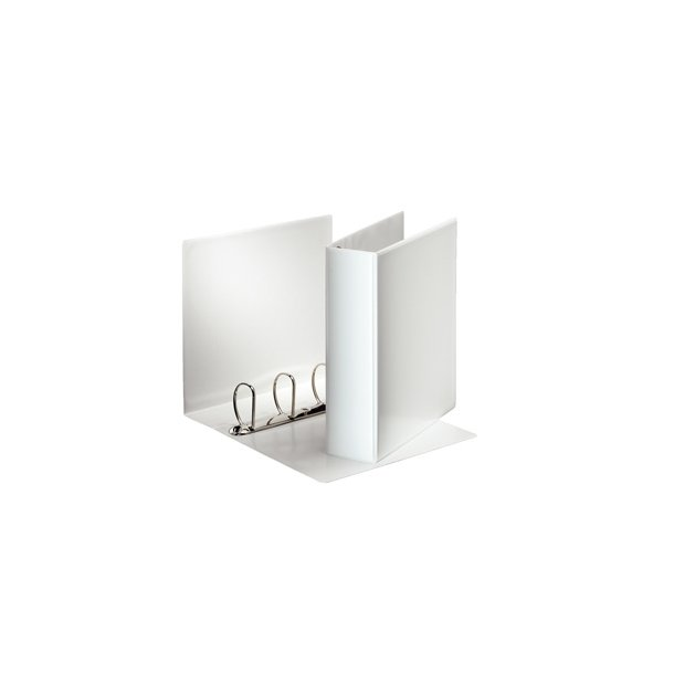 Panoramabinder - Esselte A4 4DR/60mm w/2 pock. Hvid 10 stk