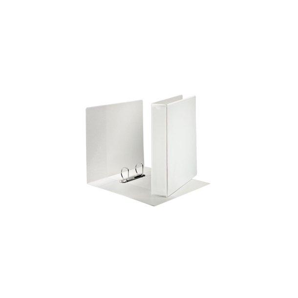 panoramabinder - Esselte A4+ 2DR/40mm w/3 pock. hvid 10 stk