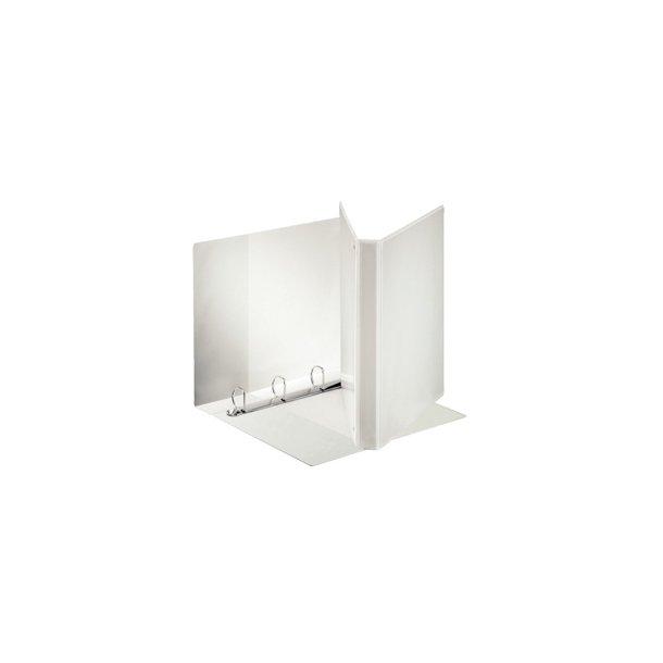 Panoramabinder - Esselte 4DR/20mm w/3 pock. Hvid - 10 stk