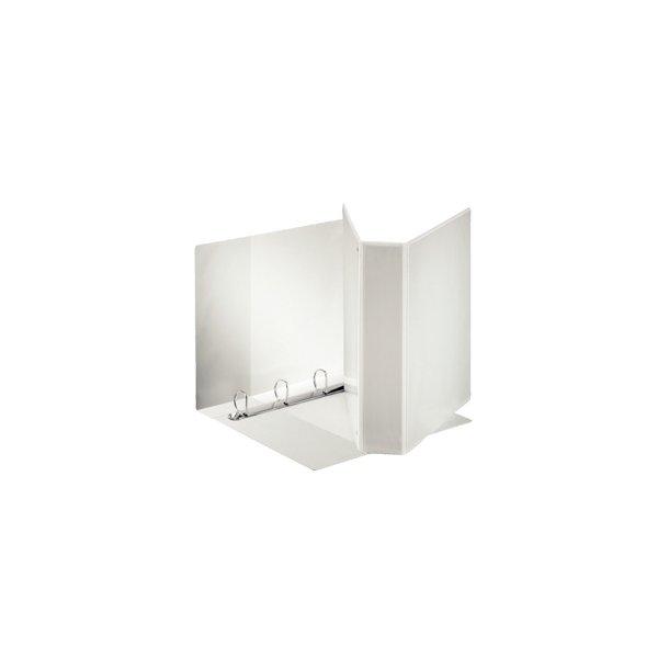 panoramabinder - Esselte A4 4DR/60mm w/3 pock. Hvid 10 stk