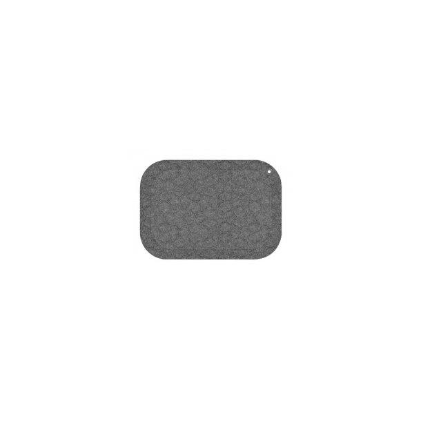 StandUp ståmåtte 53x77 cm grå - 1 stk