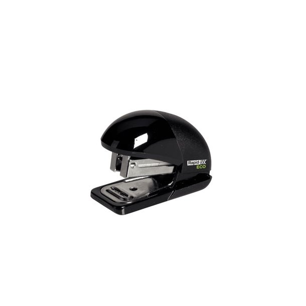 Stapler Eco Mini 10 sheet Black 1 stk