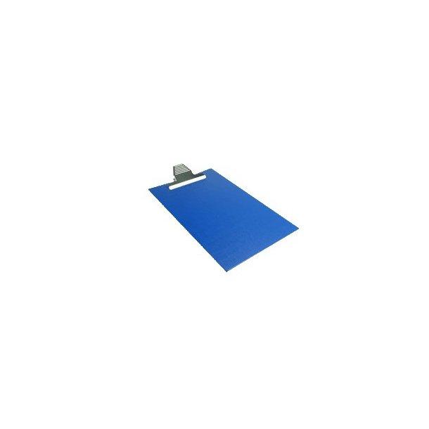 Clipboard A4 blå, skriveplade med klemme