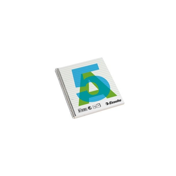 Esselte college pad A5 70g/70 sheets ruled 10 stk