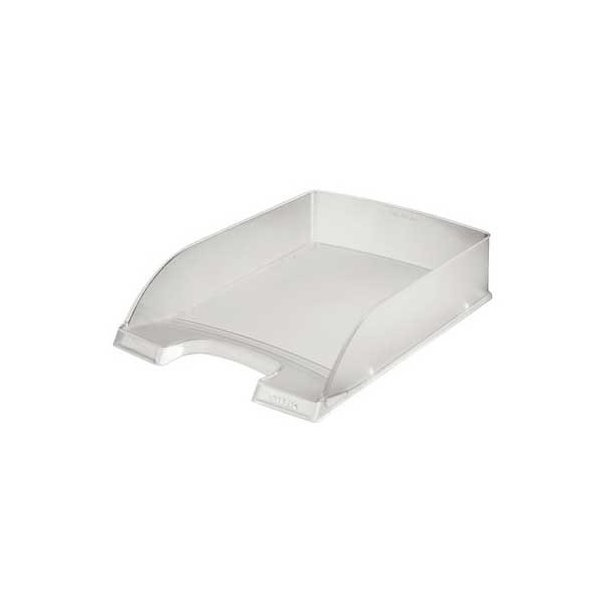 Brevbakker - Leitz Plus letter tray Clear transparent 10 stk