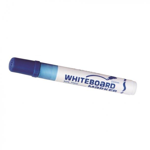 Whiteboard marker blå - 12 stk