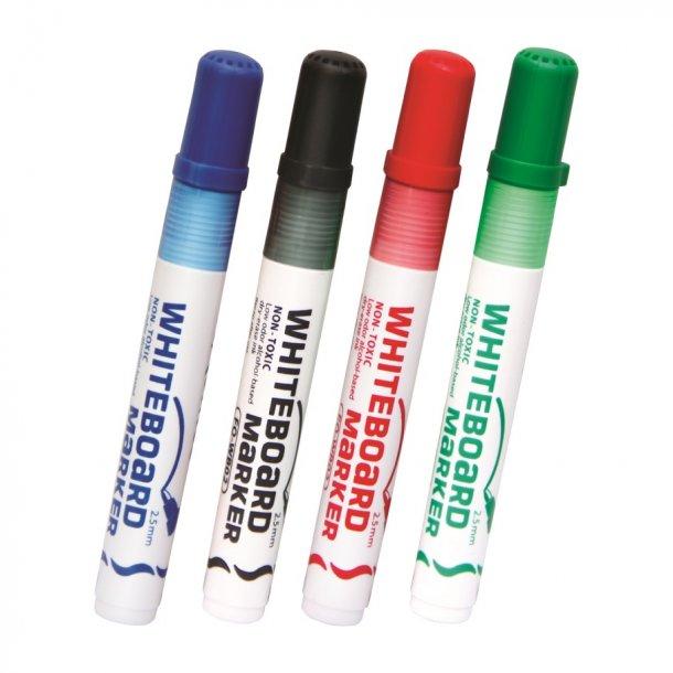 Whiteboard marker 4 farver ass