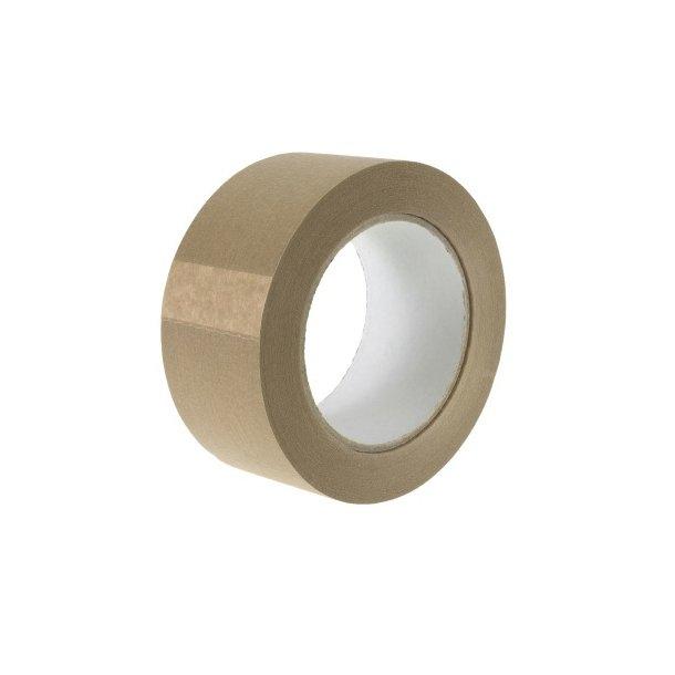 Brun papir pakke tape - 50 mm  x 50 mtr - 1 rll
