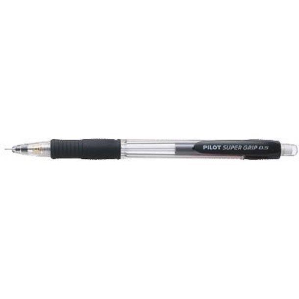Pencil Pilot H185 0,5mm sort, 29147 - 12 stk