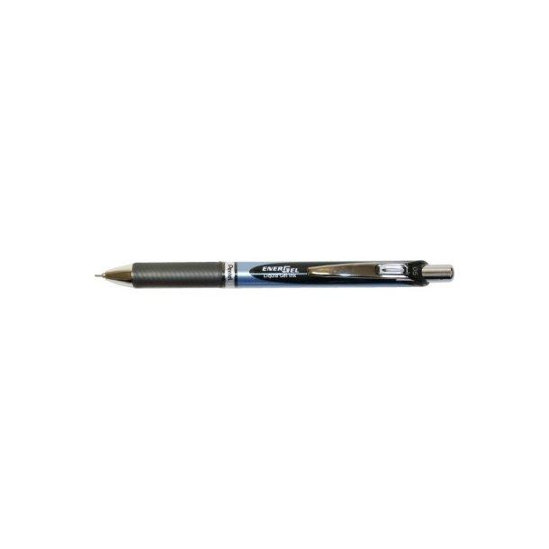 Gelpen Pentel sort BLN75 - 12 stk