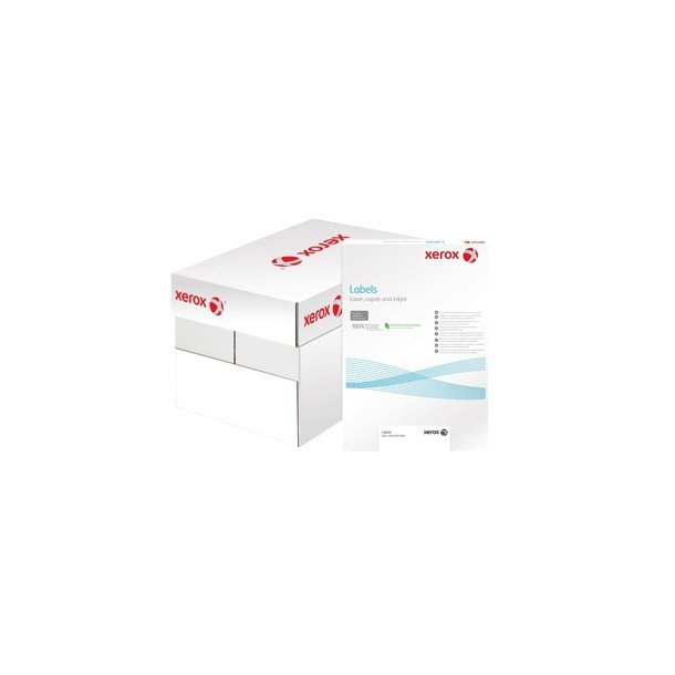 Xerox Etiketter Labels Multi 18 etiketter