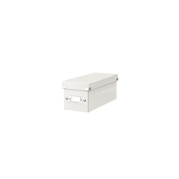 Opbevaringsboks Leitz Click & Store CD, hvid 1 stk