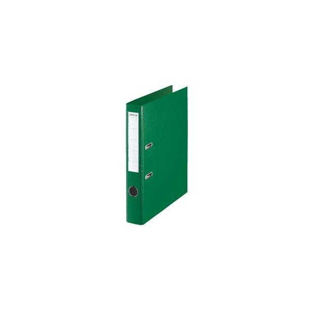 Brevordnere - Centra uden metalskinne PP A4/50mm Green 10 stk