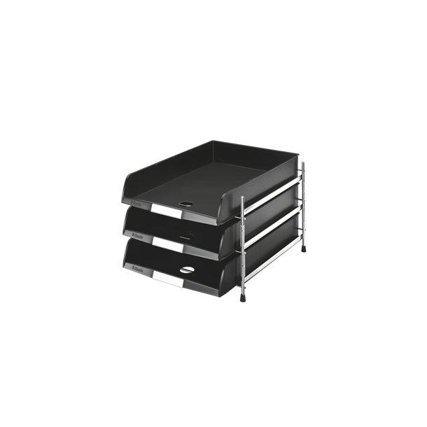 Brevbakker - Rack C4-3 Black trays