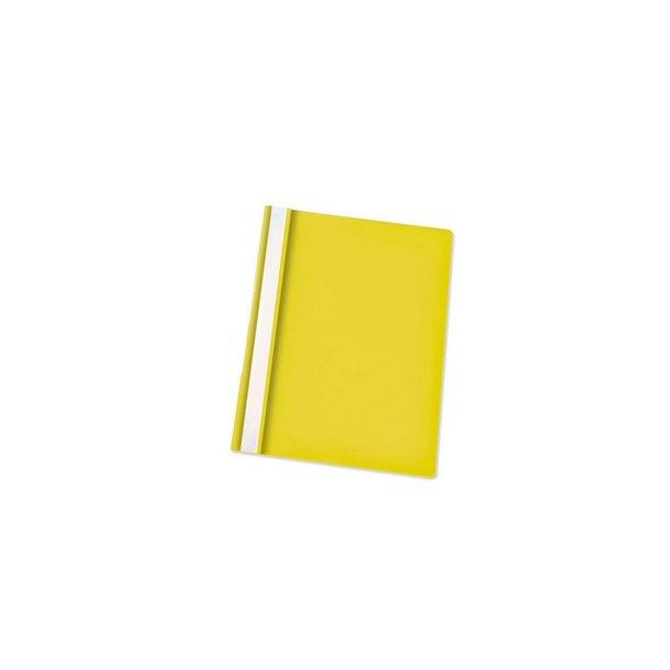 Tilbudsmapper - w/out pock A4 Yellow 25 stk