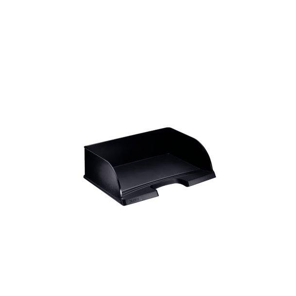 Brevbakker - Leitz Plus Jumbo letter tray landscape Black 4 stk