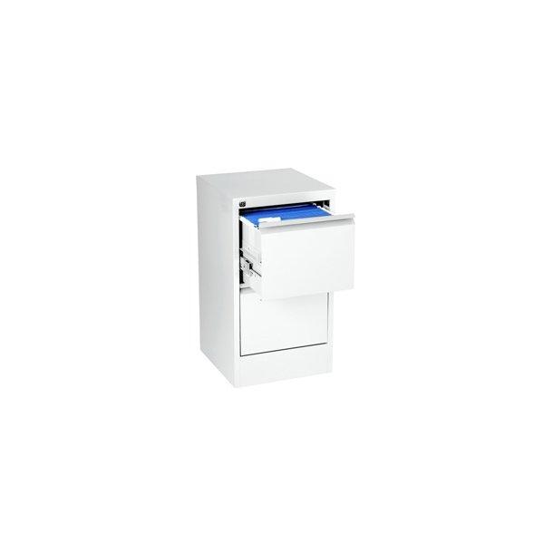 Hængemapper - Filing cabinet vertical A4 2 drawer Hvid