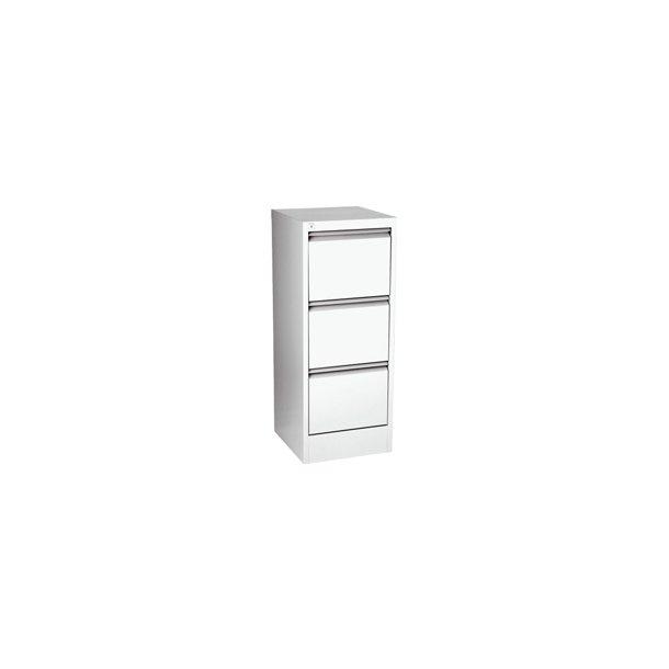 Hængemappeskab - A4 3 drawer Hvid