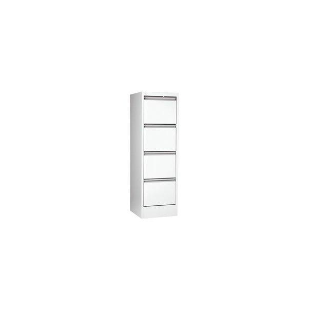 Hængemapper - Filing cabinet vertical A4 4 drawer White