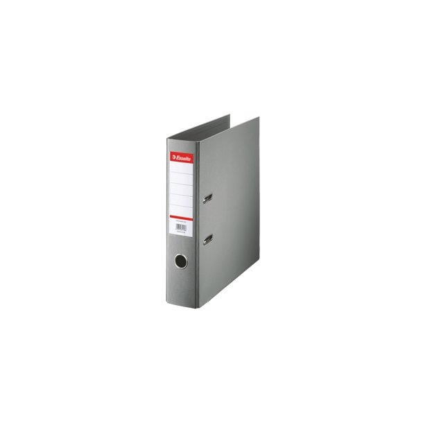 Brevordner - Esselte A4/75mm Grå 10 stk